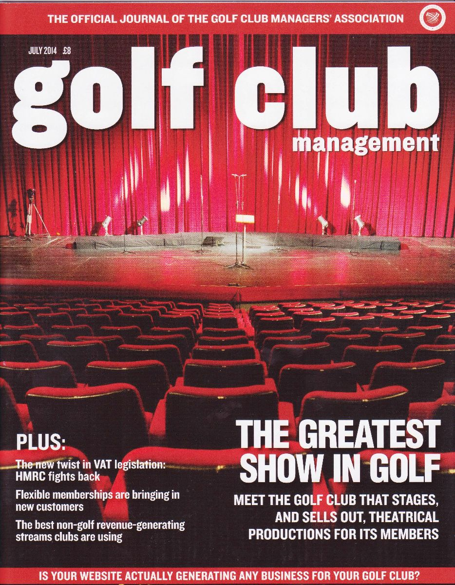 GCM Magazine Front Cover - July 14