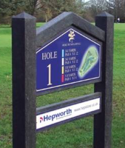 enviromental Golf Sign